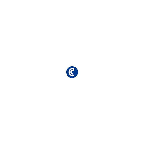 Dossiers fástener Esselte PVC 150µ Folio Azul